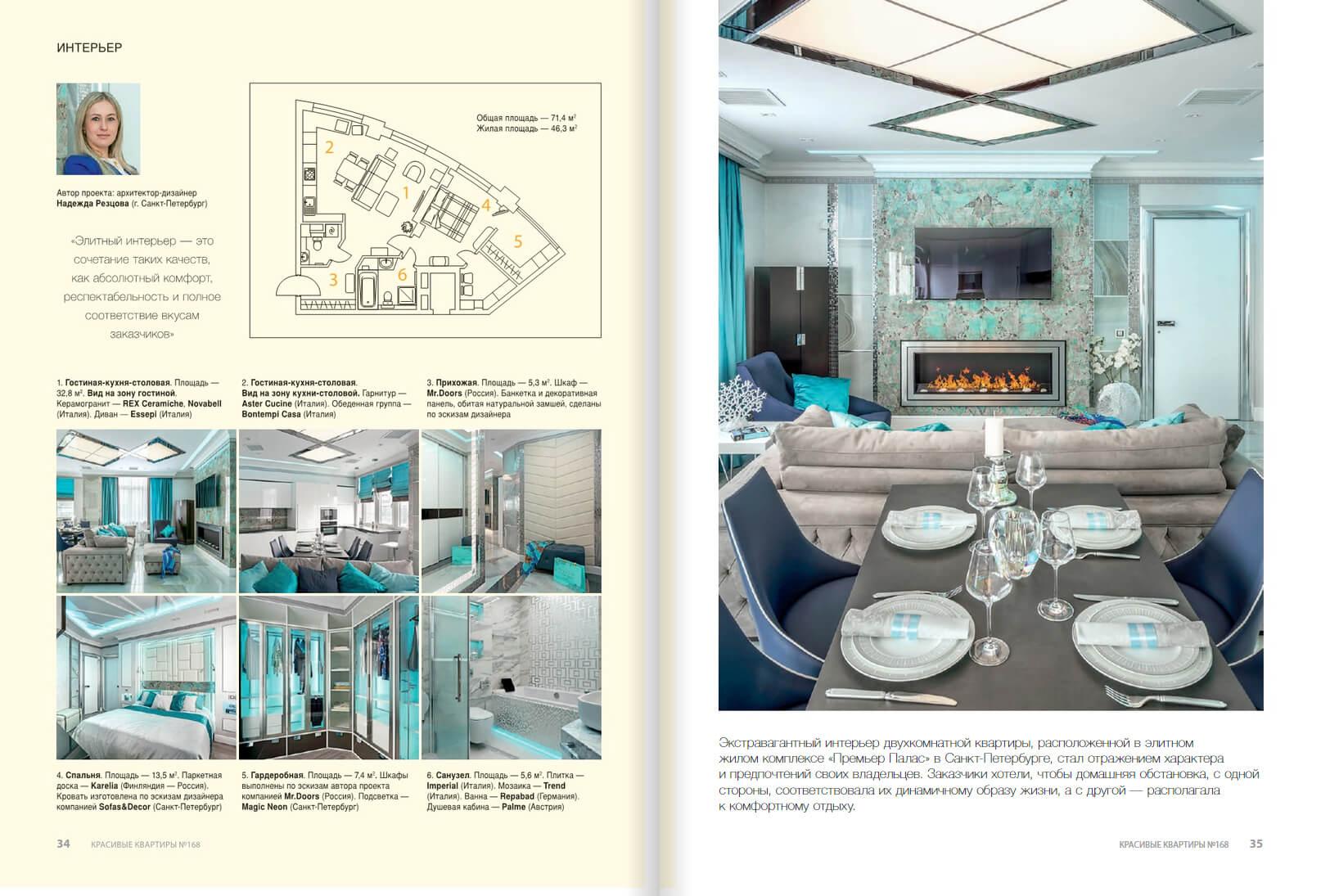 Дизайн проект в ЖК «Премьер Палас»